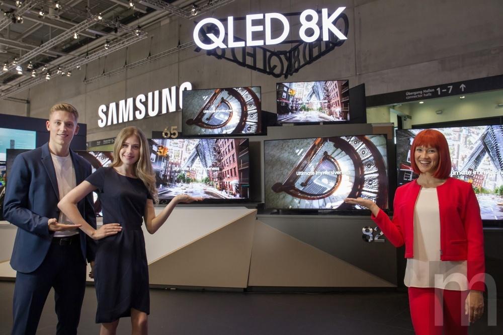 IFA 2019 Lead Press 4 三星計畫在8K電視產品加入55吋機種,將加快應用普及