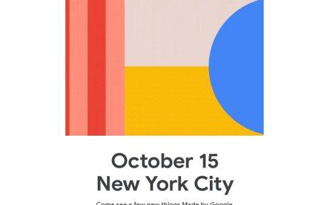 Google確認將在10/15舉辦發表活動,預計揭曉Pixel 4在內新品