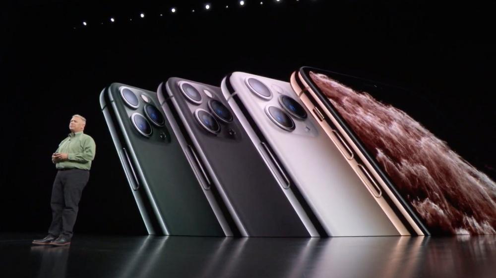 苹果新品发布会iPhone11系列浴霸三摄相机与iPhone X系列区别
