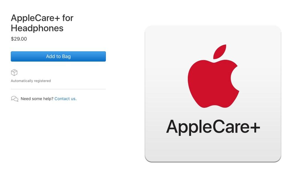 mashdigi capture 2019 09 11 下午6.29.20 蘋果開始針對耳機產品提供AppleCare+延展保固方案
