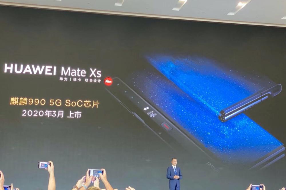 華為螢幕可凹折手機Mate X確認11月於中國市場銷售,同步揭曉升級款Mate Xs