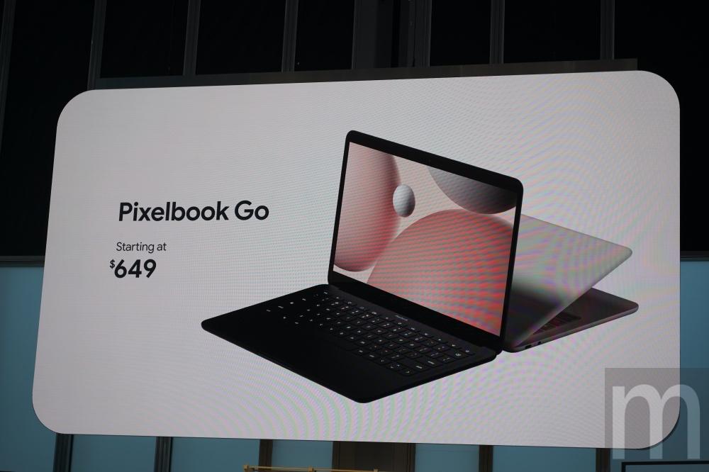 DSC05347 以回收金屬打造、強調更輕便且穩固使用的Pixelbook Go揭曉
