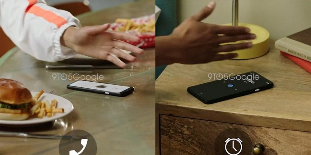 pixel 4 motion sense gestures 1 結合Soli技術,Pixel 4的浮空手勢功能將以「Motion Sense」為稱