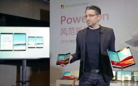 DSC05865 微軟強調Surface產品帶動軟硬體整合效益,雙螢幕帶動更大多工效率