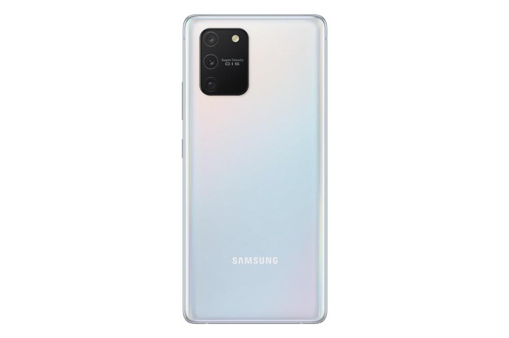 【新聞照片4】Galaxy S10 Lite 絢光白 Galaxy S10 Lite、Galaxy Note 10 Lite同步亮相,確定在CES 2020展出