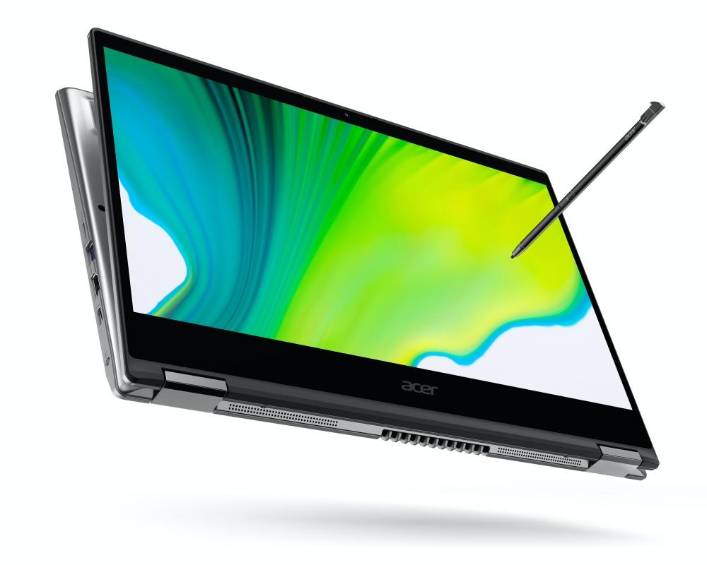 acer spin 3 2020 1 宏碁更新Spin系列翻轉筆電,換上Intel第10代Core i系列處理器