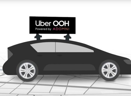 uber ooh content 2020 創造全新營收機會?Uber開始測試車頂廣告業務