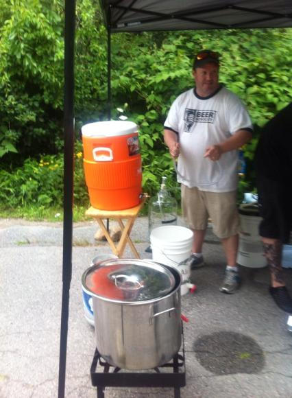 Brew day 7-27-14 5