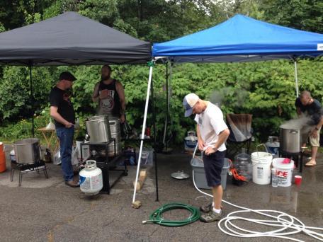 Brew day 7-27-14 8