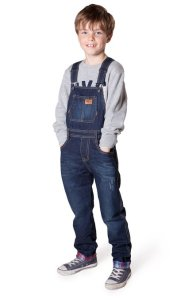 Kid in Dungarees