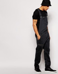 Dungarees in Baggy Style
