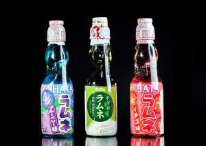 Japanilaiset Ramune-juomat