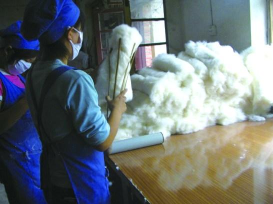 ガラ紡の写真