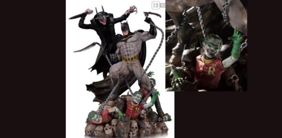 Batman Who Laughs VS. Batman