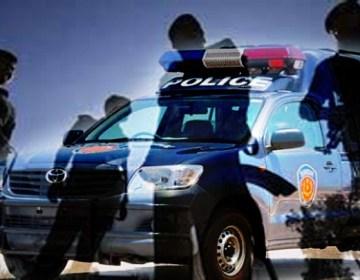 پولیس کی شہری پر تشدد