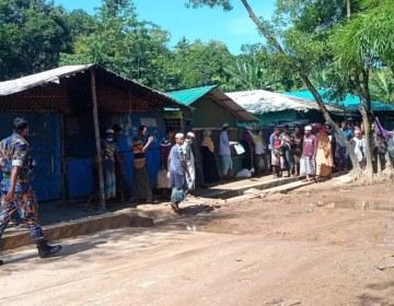 روہنگیا میں قتل و غارت