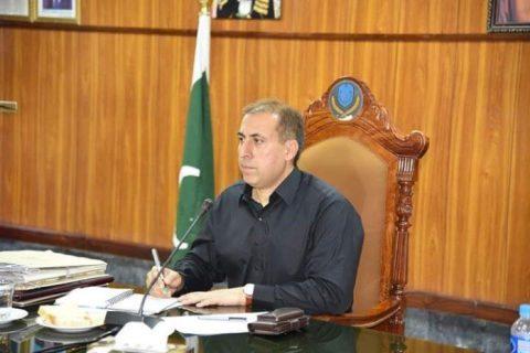 Bannu University Vice Chancellor Abid Ali Shah