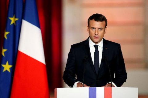 France president Macron