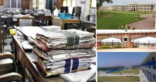 Illegal recruitment in 3 universities of kp