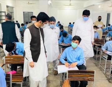 طلبہ سے خصوصی امتحان لینے کا فیصلہ