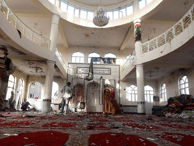 قندوز کی مسجد میں دھماکا