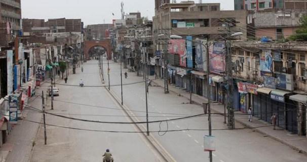 Smart lockdown implemented in 5 areas of Peshawar
