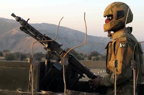 پاک افغان سرحد پر فائرنگ