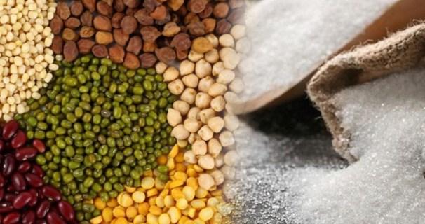 rising price sugar &pulses