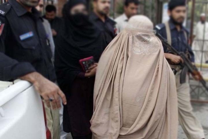 women arrested in swabi