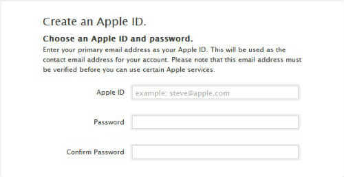 How to get a free Apple ID?