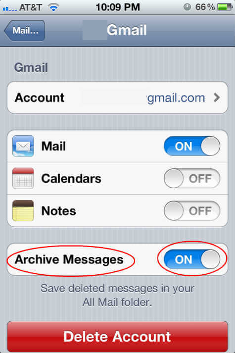 Recover Deleted Email from iPhone / iPad