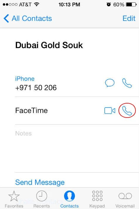 Is facetime free between iphones