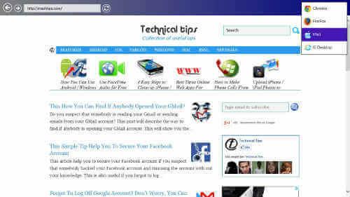 mimic browser1