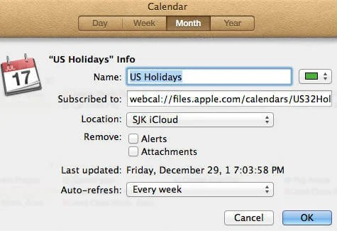 ical add calendar