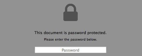Lock PDF Using MAC