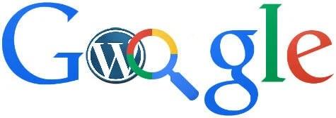 google search on wordpress