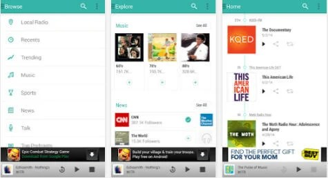 7 Free Radio Apps for Android Phone and Tablet | Mashtips