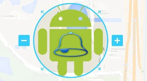 mute android ringtone at location
