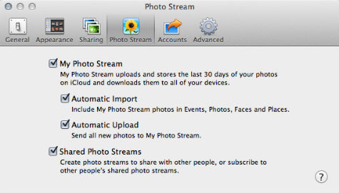 iPhoto Import