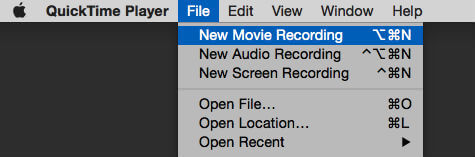 iPhone screen record start in quick time