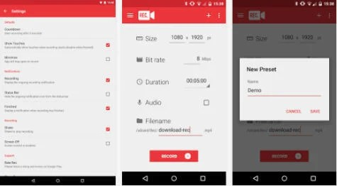 7 Best Screen Recorder Apps for Android Phone and Tablet