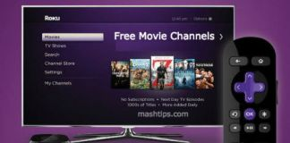 roku free movie channels