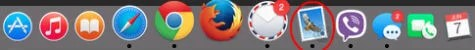 appple mail icon