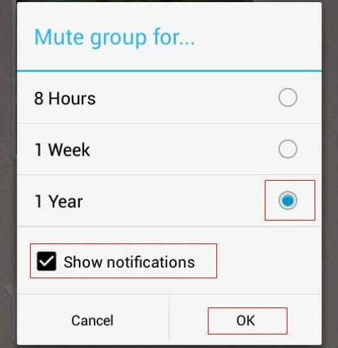How to Mute unwanted Whatsapp Message Alerts in Android ...