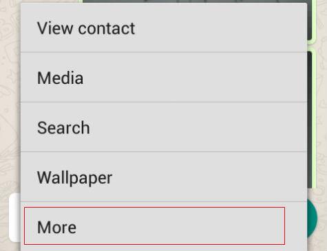mute Whatsapp messages