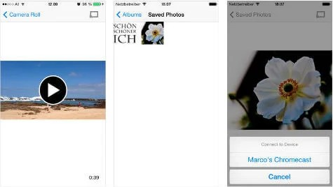 8 Free iOS Apps to Stream Videos and Photos to Chromecast  | Mashtips