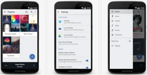 Best 4 Android Apps to Stream Music from Cloud in Offline | Mashtips