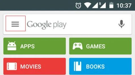play store auto update disable