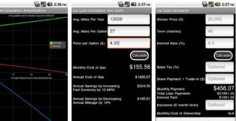 Car Loan Calculator Free