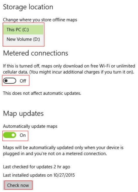 download offline maps